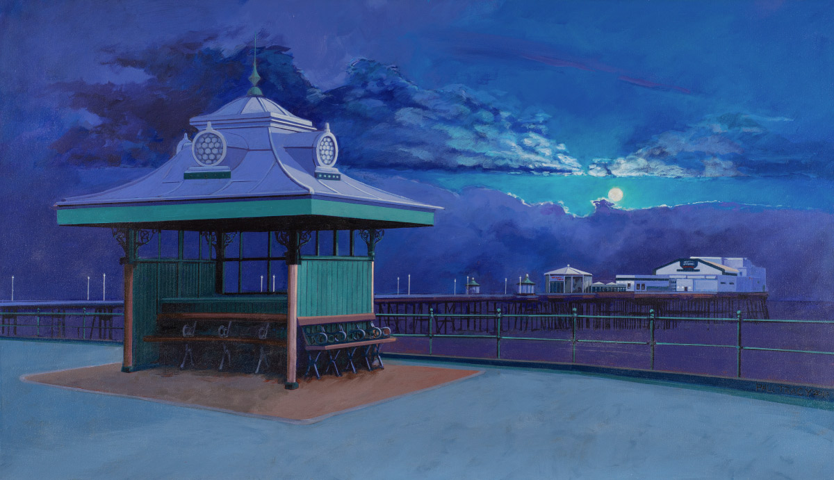 Painting of Blackpool North Pier