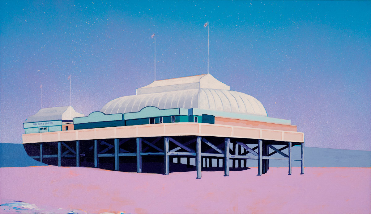 Painting of Burnham-on-Sea Pier