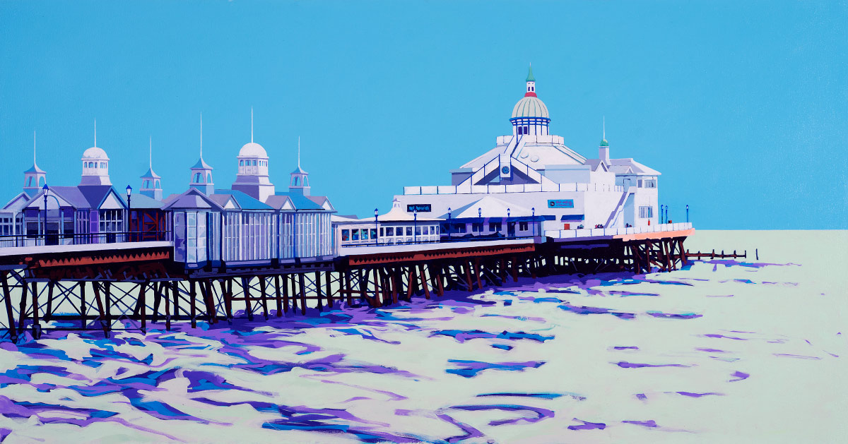 Painting of Eastbourne Pier