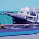 Painting of Sandown Pier