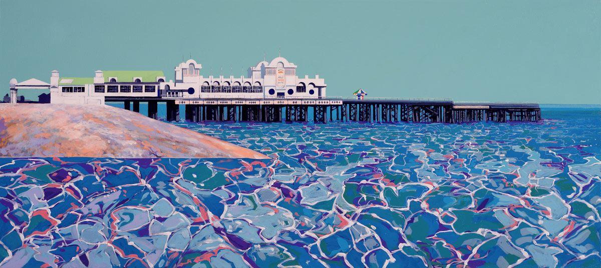 Painting of Southsea Pier