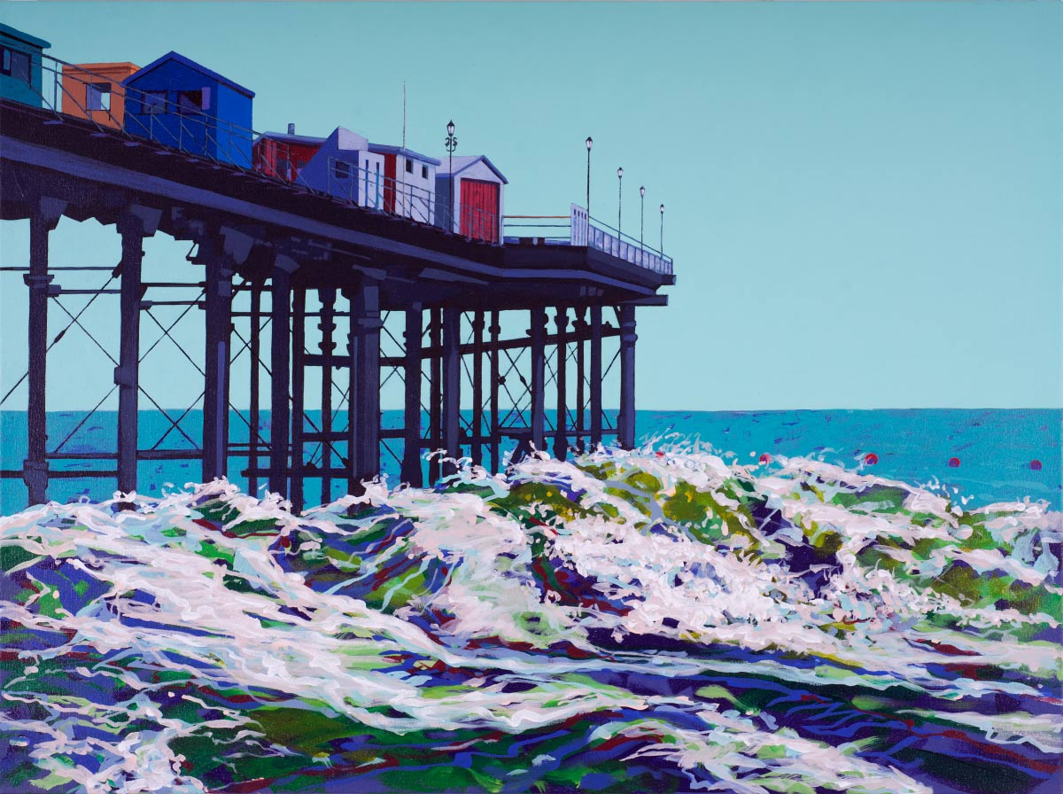 Painting of Teignmouth Pier
