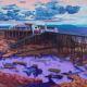 Painting of Weston-super-Mare Birnbeck Pier