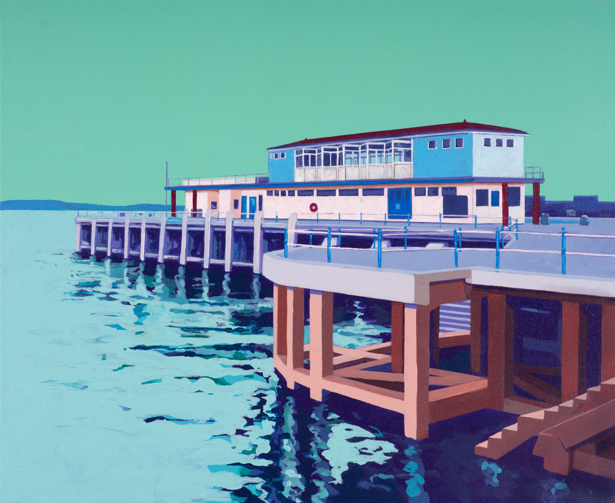 Painting of Weymouth Pier