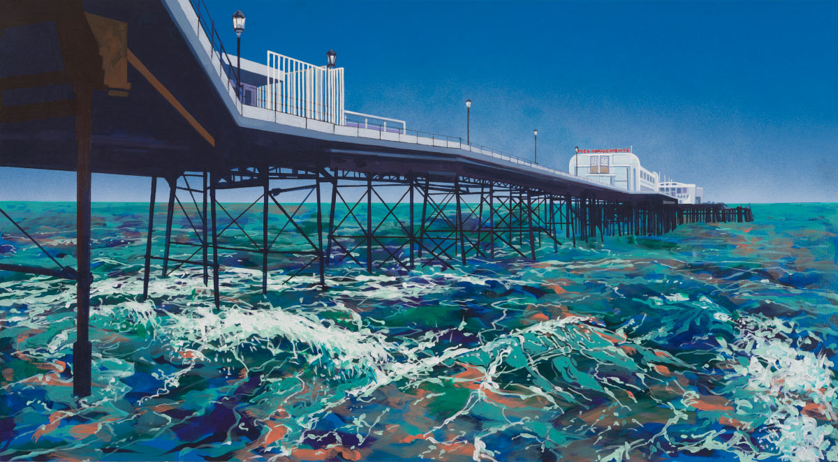 Painting of Worthing Pier