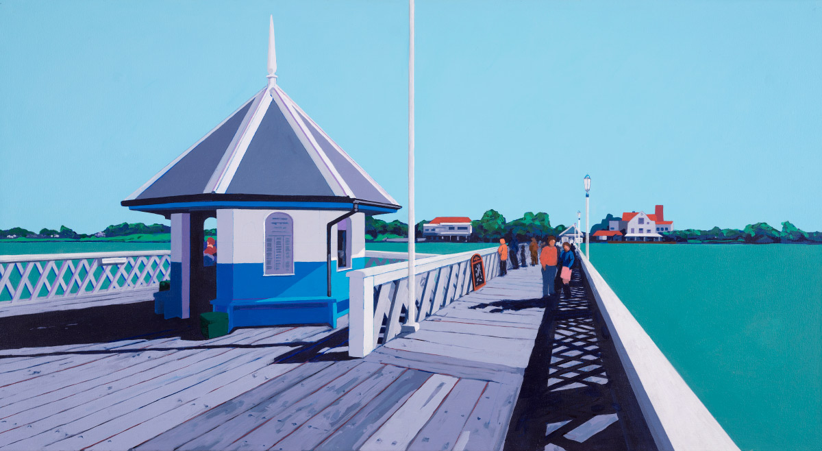 Painting of Yarmouth Pier