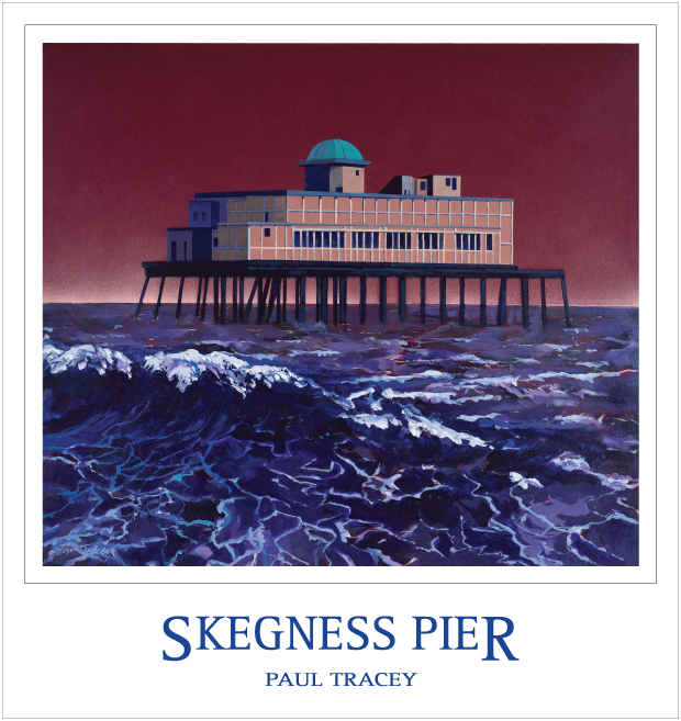 Poster of Skegness Pier Painting